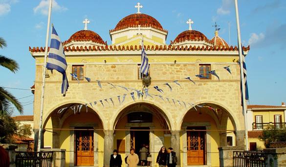 Mitropoli – The Great Church of Aegina