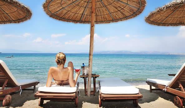Swimming in Aegina