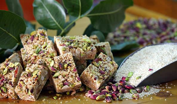 Aegina Cuisine with Pistachios