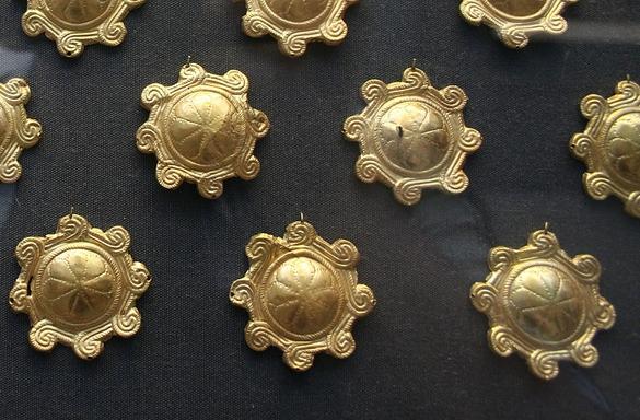 British Museum : The Aegina Treasure
