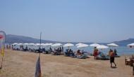 Agios Vassilios beach in Aegina