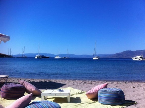 Klima beach in Aegina