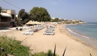 Vagia beach in Aegina