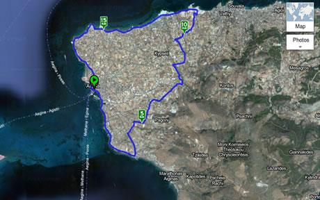 Ποδήλατο στην Αίγινα