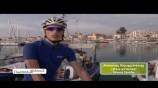 Test καινούργιου μοντέλου ποδηλάτου (Bianchi Oltre Xr) στην Αίγινα